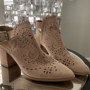 Brown Booties (size 7)
